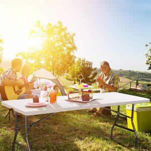 table de camping pour 6 personnes