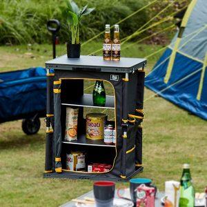 cuisine de camping pliable